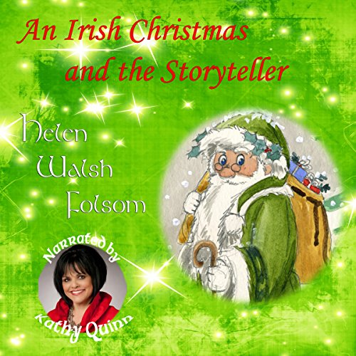 An Irish Christmas and the Storyteller audiobook cover art