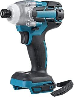 Qjin 18V Impact Driver 1/4 Inch Cordless Impact Drill (Without Battery and Charger)