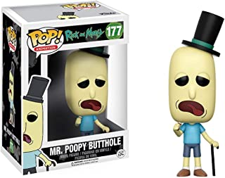 Funko POP Animation Rick and Morty Mr. Poopy Butthole Action Figure