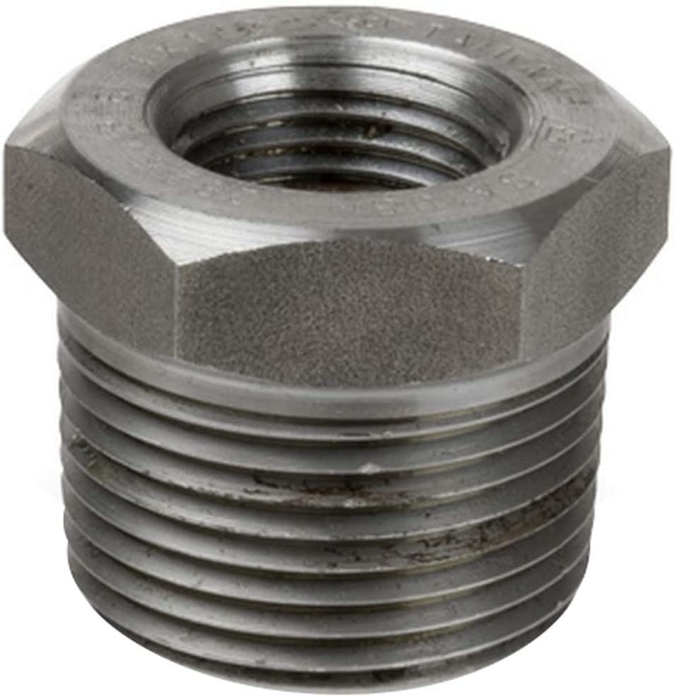 Smith Cooper 3 Very popular in. 3000# Forged Carbon Bushing-2 1 Free Shipping New i Steel Hex 2