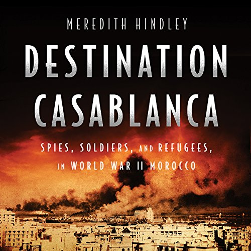 Destination Casablanca audiobook cover art