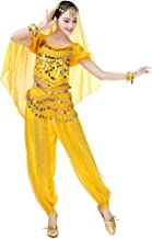 Gyratedream Belly Dance Tribal Face Veil With Sequins Indian Dance Costume Accessory