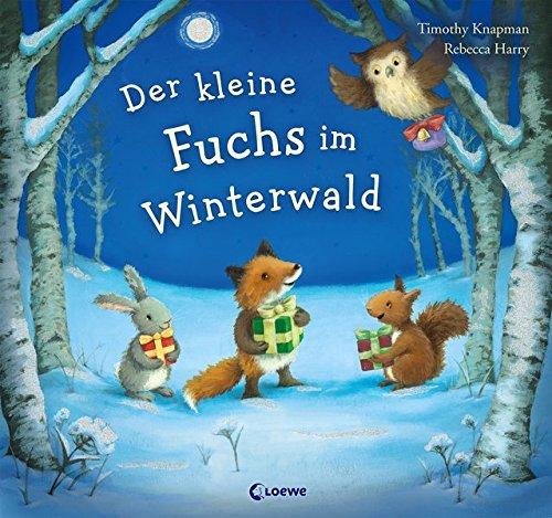 Der kleine Fuchs im Winterwald