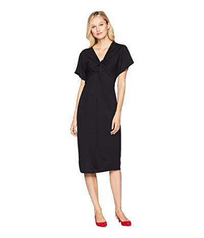 B Collection by Bobeau Aubri Twist Knit Dress (Black) Women