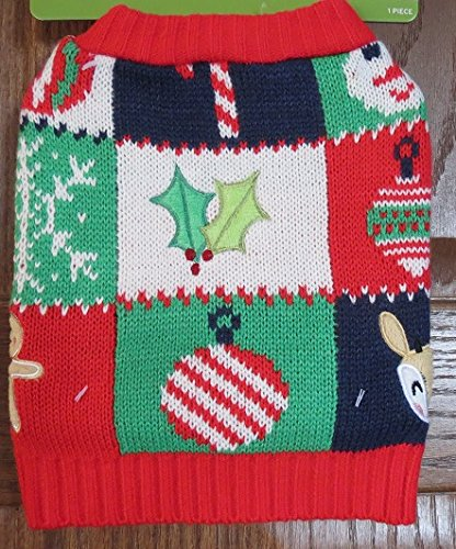 Target Pet Ugly Christmas Sweater Reindeer Gingerbread Man Holly XS