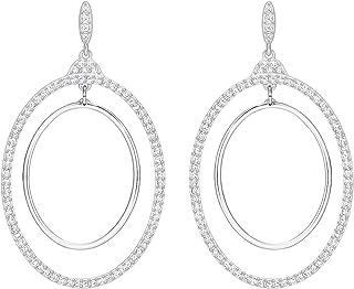 Swarovski Women Rhodium Plated Earring - 5279777