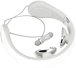 Vbestlife1 Casque Bluetooth Pliable, Casque à Dent Bleue de Jeu avec Son Surround Virtuel, Casque de Massage sans Fil Tour...