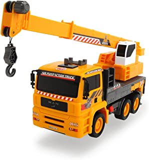Dickie Toys Air Pump Action Mobile Crane Truck, 12