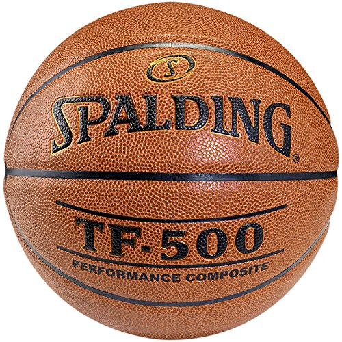 Spalding Unisex-Adult Tf500 Indoor Sz.6 Basketball, orange, 6