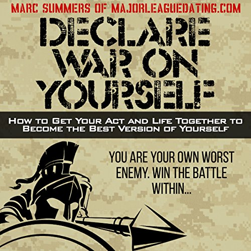 Declare War on Yourself audiobook cover art
