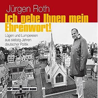 Ich gebe Ihnen mein Ehrenwort! Lügen und Lumpereien aus siebzig Jahren deutscher Politik Titelbild