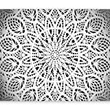 murando Fotomurales 350x256 cm XXL Papel pintado tejido no tejido Decoración de Pared decorativos Murales moderna Diseno Fotográfico Mandala Oriente Abstraccion 3D f-a-0581-a-b