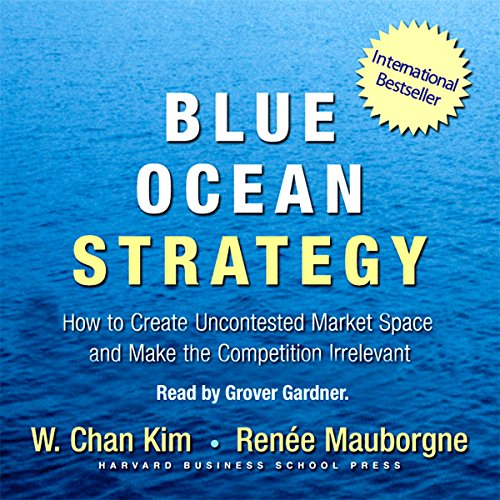 Blue Ocean Strategy audiobook cover art