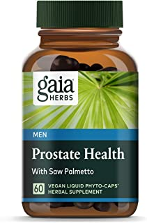 Gaia Herbs Prostate Health Liquid Phyto-Capsules, 60 Count