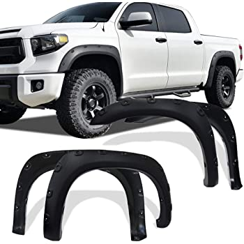 Amazon Com Bushwacker 30902 02 Toyota Extend A Fender Flare Set Of 4 Automotive