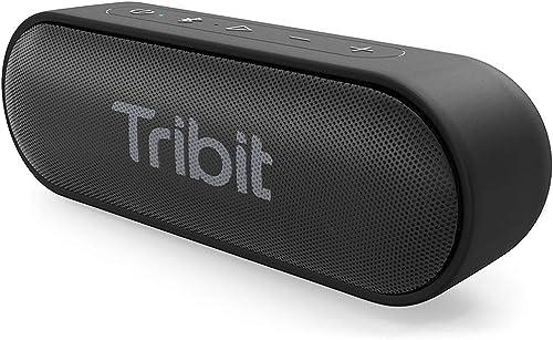 Tribit XSound Go Bocina Bluetooth portátil de 12 W con sonido estéreo, graves ricos, resistente al agua IPX7, 24 hora...