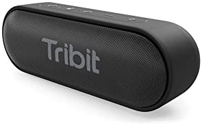 Tribit XSound Go Bluetooth Speaker - Speakers Bluetooth Wireless with Rich Bass, IPX7 Waterproof, 12W Powerful Sound,...