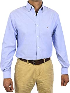 Tommy Hilfiger Slim Fit Non Iron Oxford Solid Dress Shirt