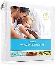 Linenspa, Mattress Encasement Zippered Waterproof, Dust Mite, Bed Bug Proof, King Hypoallergenic Breathable Protector