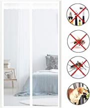 Flying Insect Screen Door, Anti-Mosquito Curtain To Prevent Mosquitoes From Entering, Magnetic Automatic Closing (Color : ...