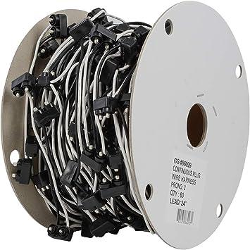 Amazon.com: GG Grand General 86099 2 Prong Continuous Wire Harness, 24  Inches, 60 Plugs per Roll: AutomotiveAmazon.com