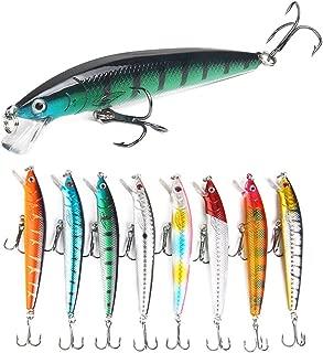 "5-1//2/"" Minnow Body Swim Bait Bass Fishing Soft Plastic Lure Mold 3155MC FUSION X"