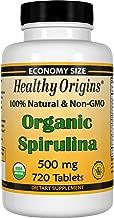 Healthy Orgins Organic and Kosher Spirulina Tablets, 500 Mg, 720 Count