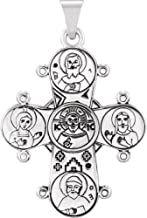 Jewels By Lux 925 Sterling Silver Dagmar Cross Pendant without Packaging