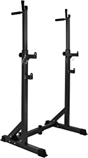 Weight Bench/Squat Rack Everfit Bench Press Home Gym Fitness Exercise Training Equipment