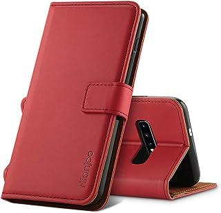 428b504ad51 Hianjoo Compatible para Funda Samsung Galaxy S10, Carcasa Samsung S10 de  Cuero Suave de la