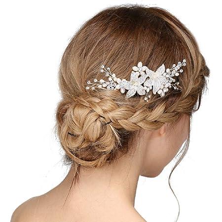 bridesmaid hair comb bridal hair comb Rhinestone applique hair comb wedding hair comb comb