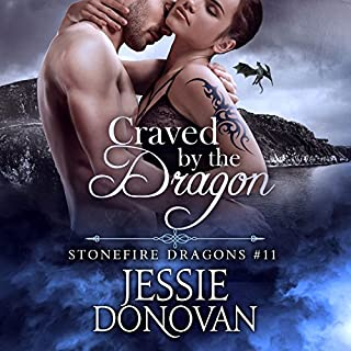 Craved by the Dragon audiobook cover art