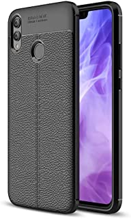 Soft TPU Back Cover AutoFocus For Huawei Y9 2019 - Black