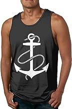 Anchors Aweigh Casual Fashion Men Tank Top Shirt