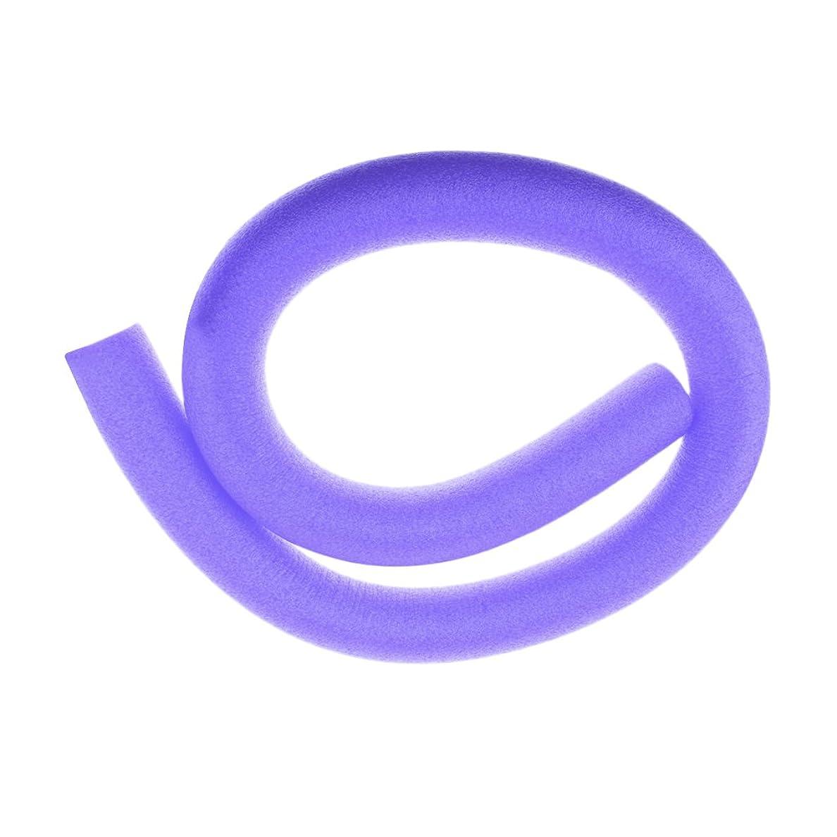さておきドラム本土Baosity スティック 柔軟 カラフル フォーム プール ヌードル スイミング ウォーター フロート エイド ウォグルヌードル  全6色 - 紫