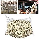 Hengda Rete per Fieno morbida 160x100cm, fori in rete resistenti agli strappi Rete di fieno robusta, dimensioni maglia 3X3 cm, adatto per l'alimentazione di cavalli, pecore, bovini