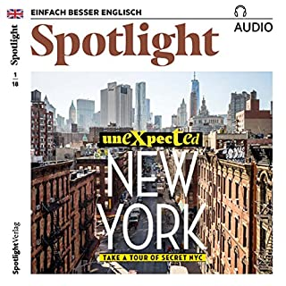 Spotlight Audio - Unexpected New York. 1/2018 Titelbild