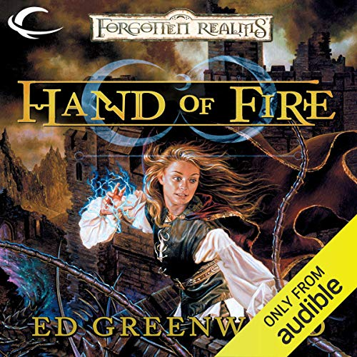 Hand of Fire audiobook cover art