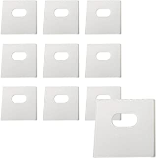 Best 10 Sets of Clear Vertical Blind Repair Tabs / Vertical Blind Tabs / Blind Fixers - 20 Total Tabs (10 Sets) and 2 Alcohol Wipes Reviews