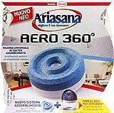 12 x ARIASANA Assorbiumidità Aero 360° Ricarica Inodore 45