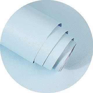 LZYMLG Papel Tapiz De Color Nórdico Grueso Nórdico Dormitorio Dormitorio De Los Niños Sala De Estar Decoración De La Pared Pegatina Diy Azul claro