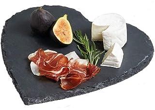 Cuore Yuna Set 6 Pezzi Portata Snack Servi Aperitivo Ceramica e antipasto Piattino Tapas