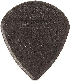 Jim Dunlop 471p3C jzz-6Nylon Max reproductor de agarre Púa De Guitarra en pack