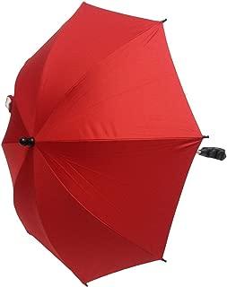 Bebé Sombrilla Compatible con Mountain Buggy Duet rojo