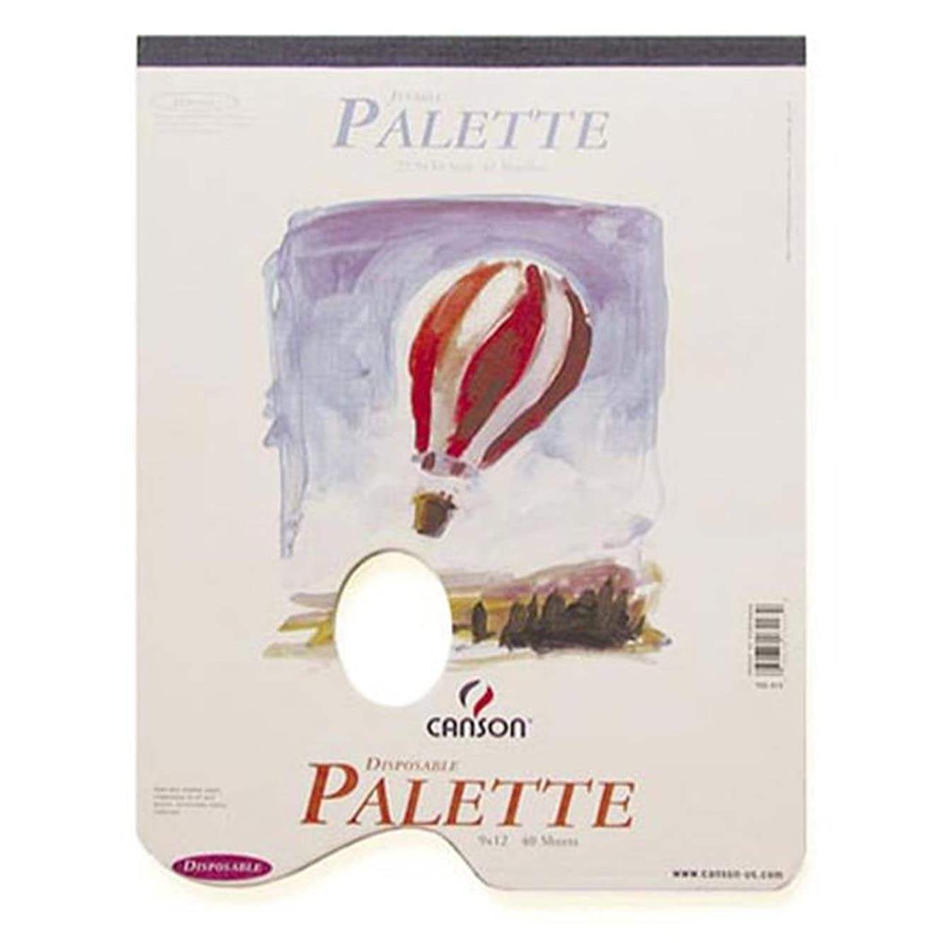 Darice MOR702313 PAD O Palette 9X12 WHT Whole Disposable