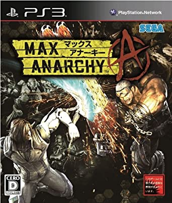 MAX ANARCHY - PS3
