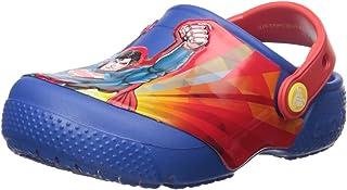 Crocs 儿童趣味实验室超人洞鞋