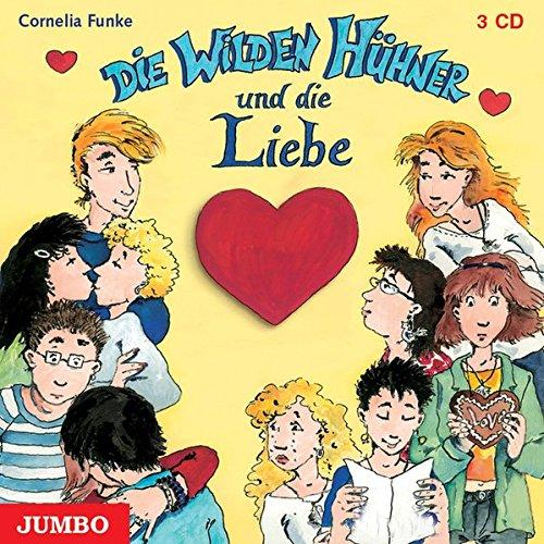 Die wilden Hühner und die Liebe. 3 CDs