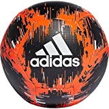 adidas CPT Ballon de Football Homme, Black/Solar Red/Off White, FR : S (Taille Fabricant : 5)