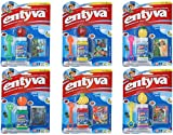 Entyva Fruit Scented Bubbles, 6 Pack Bubble Wand and Solution, Randomly Assorted